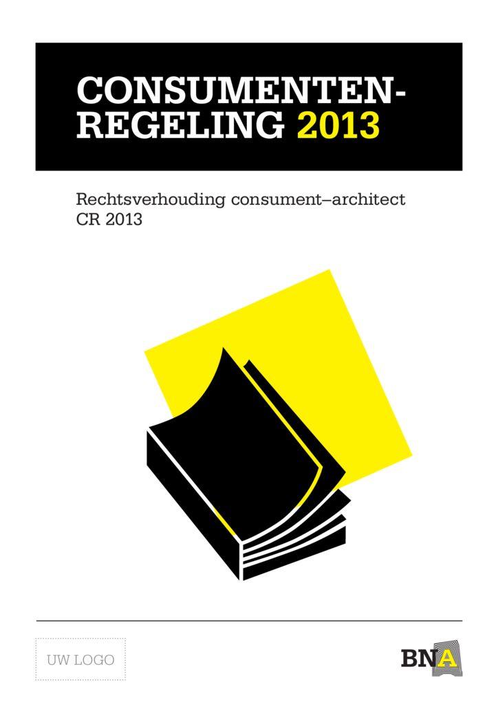 thumbnail of Consumentenregeling 2013