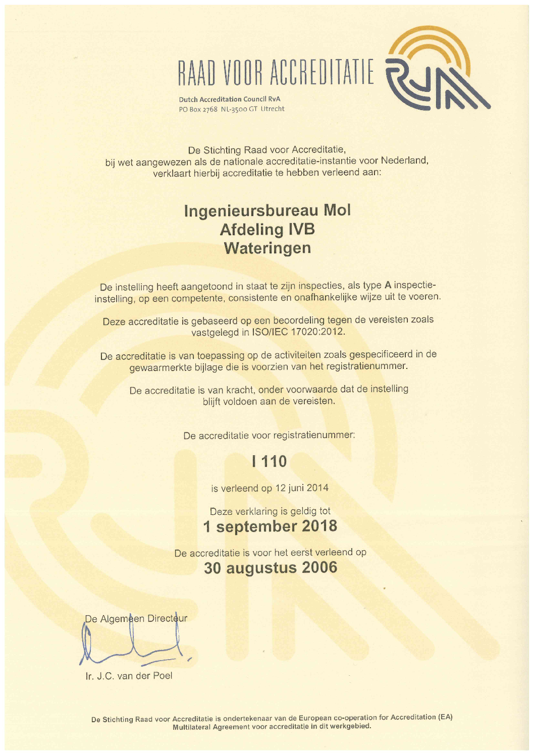 thumbnail of certificaat tot 2018 17020 2012